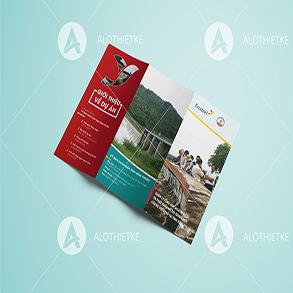 In brochure tại Phan Thiết
